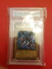 Yugioh Red-Eyes B Dragon Ultra Rare 1st Edition LOB-070 PSA 10 GEM MINT USA ED