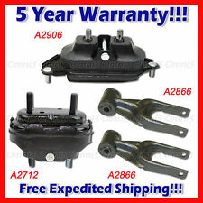 L103 Fit 2004 2005 Pontiac Grand Prix 3.8L Engine Motor & Trans. Mount Set 4PC