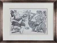 """Le CORBUSIER Lithograph SIGNED Limited Edition """"Violences"""" +w/Frame"""
