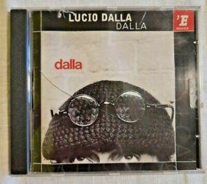 LUCIO DALLA Dalla Musica Maschile Italiana Pop CD