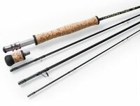 "Pieroway Renegade 596-4 Fly Rod, 9'6"" 5wt 4pc, NEW"
