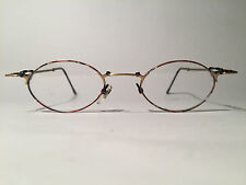 Vintage Romolo Cianci Tecno 12 44[]20 150 Gold Oval Brillengestell Brille NOS