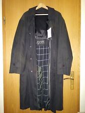 Herren Mantel Trenchcoat Bugatti Multifunktional 3 in1 Gr 50 52 XL schwarz lang