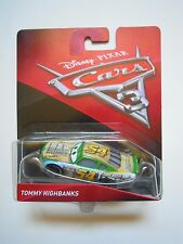 Disney Pixar Cars 3 #54 Tommy Highbanks automobile Mattel in Blister