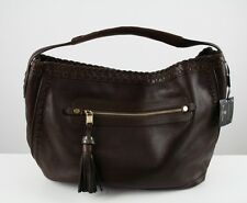 Massimo Dutti Brown Leather Shoulder Bag