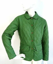 BARBOUR Womens Green Jacket Tailor Quilted size UK12/EU38/US 8
