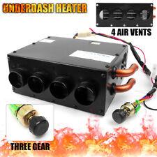 12V Underdash Car Heater Riscaldatore Fan Defroster Demister 3 Speed Switch