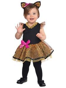 ★  Leopard Katzekleid, Katze,Wildkatz,Tiger,Tierkostüm Kinderkostüm,74-92 Kostüm