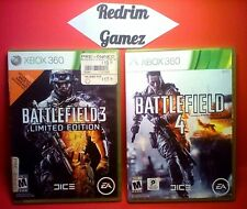 Battlefield 3 4 XBOX 360 Video Games