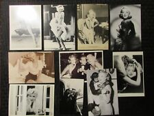 MARILYN MONROE Collectible Black & White Post Card LOT of 17 VF 8.0