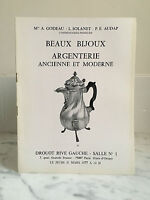 Catálogo De Venta Bonitos Bisutería Cubertería Antiguo Y Moderno 31 Mars 1977