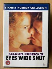 Eyes Wide Shut DVD 1999 Kubrick Erotic Drama with Tom Cruise and Nicole Kidman