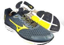 MIZUNO WAVE RIDER 18 Men's Size 14 Athletic Running Shoes Sneakers Black Yellow