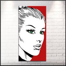 Quadro moderno DIPINTO A MANO su tela canvas Eva Diabolik Quadri moderni POP ART