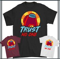 Parmi US T-Shirt Impostor Trust No One Hommes Imposteur Enfants Garçons Filles