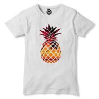 Tropical Pineapple Fruit Tshirt Mens Womens t Shirt Exotic Summer Palm tree 98