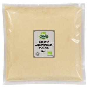 Organic Ashwagandha Powder Certified Organic