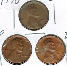 1948-D+P+S Uncirculated Business Strike Copper One Cent Coin!