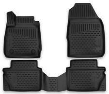 Passgenaue Fußmatten für FORD Fiesta VI MK6 2008-2017 Gummimatten