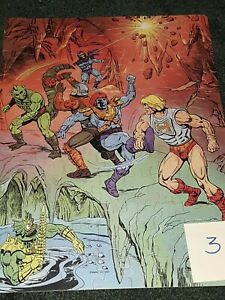 Masters of the Universe MOTU She Ra Jigsaw puzzle LOT of 8 Complete
