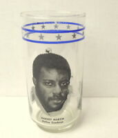 Dallas Cowboys 1977 Burger King glass Harvey Martin Rare Find Collector Owned