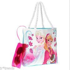 Disney Frozen Elsa Anna Tote Bag Beach Pool Swim Lunch Shoulder Bonus Sunglasses