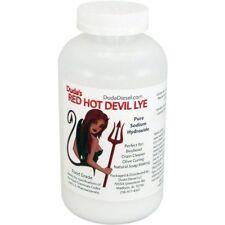 2 lb Red Hot Devil Lye Sodium Hydroxide Meets Food Chemical Codex Hig 00006000 h Grade