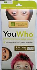Imprint Plus YouWho 4-Unit Professional Name Badge Kit with Magnetic Fastener