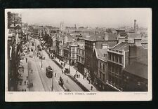 Wales Glamorgan Glam CARDIFF St Mary's St Used 1916 RP PPC