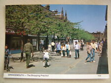 Postcard. GRANGEMOUTH - THE SHOPPING PRECINCT. Unused.