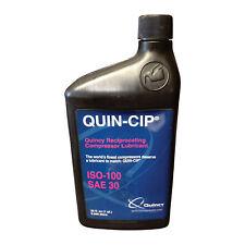 Quincy Compressor 30W Compressor Oil - 1-Qt Model# 112543Q100