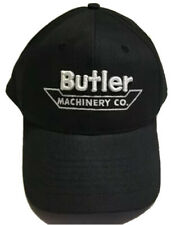 Butler Machinery Hat Agriculture Farming Equipment Cap Caterpillar Construction