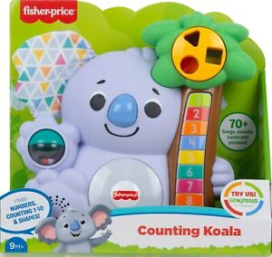 Fisher-Price Linkimals Counting Koala Interactive Toy