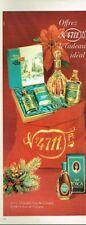 J- Publicité Advertising 1969 Eau de Cologne Tosca N° 4711