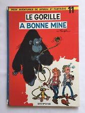 SPIROU ET FANTASIO LE GORILLE A BONNE MINE T 11 / BD 1RÉ 1967 / FRANQUIN /DUPUIS
