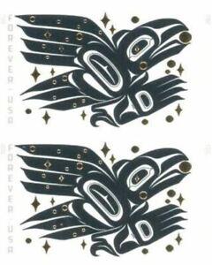 IMPERF PAIR (VERT OR HORIZ) Raven Story NDC No Die Cut Scott 5620 XF MNH; FRESH!