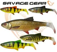 New Savage Gear Fishing Lures 4D RIVER ROACH 18cm 70g Soft Plastic Bait Jig Pike