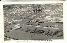 1942 An Air View of Fort Bragg in Fayetteville, NC North Carolina PC