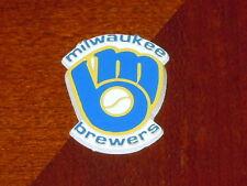 MILWAUKEE BREWERS Vintage Old MLB RUBBER Baseball FRIDGE MAGNET Standings Board