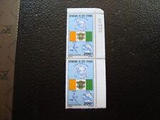 COTE D IVOIRE - timbre yvert et tellier aerien n ° 65 x2 n** (Z3) stamp