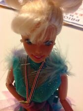 Mattel Barbie doll Olympic Skater & Spin USA Olympics 1997 doll