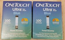 200 New Sealed OneTouch One Touch Ultra Blue Test Strips Exp 04-30-2018