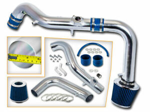 BLUE COLD AIR INTAKE KIT+DRY FILTER FOR Scion 05-06 tC Coupe 2.4L L4