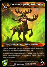 WOW Cenarius, Signore della Foresta CROWN 5/198 ITA MINT WORLD OF WARCRAFT