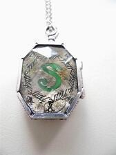 Harry Potter Prop Slytherin Horcrux Locket Necklace - Lord Voldermort gift