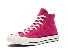 Converse Men's Chuck 70 Suede High Top Sneakers,Pink/Black/Egret