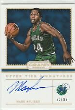 MARK AGUIRRE UPPER TIER ON CARD AUTO #/99 2016-17 GRAND RESERVE