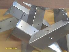 arris rail repair brackets pack of 6 galvanised  285mm long 80mm wide heavy duty