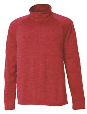 MENS CHARLES RIVER MEN'S RED SPACE DYE PERFORMANCE PULLOVER-LARGE