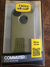 Otterbox Commuter AppleiPhone 4/4S ARMY GREEN/graY Case Cover W/scrin PrOtector